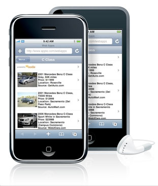 iphone search cars for sale