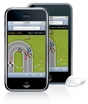 iphone think racer