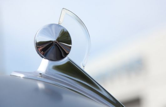ford custom hood ornament 50