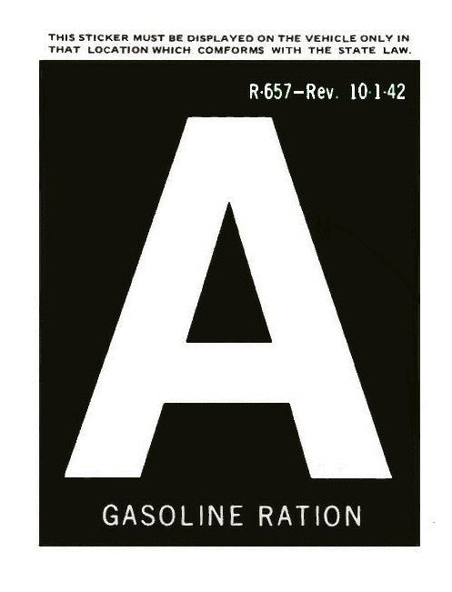 gas ration a