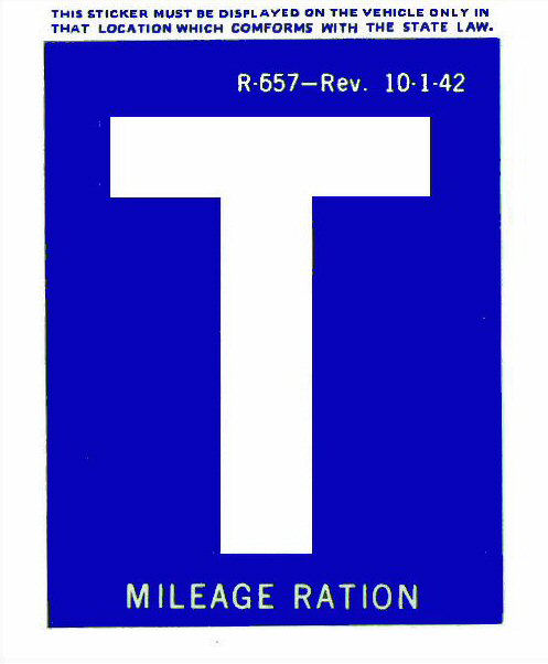 gas ration t