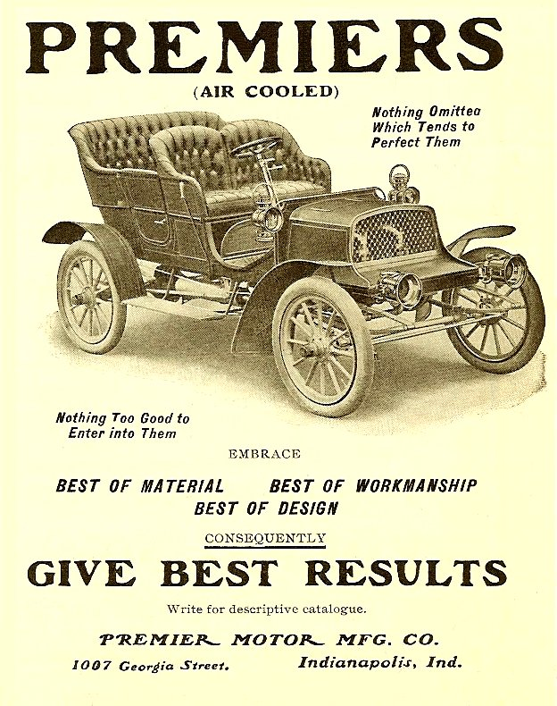 1000 images about in 1905 on pinterest for Premier motors elkhart in