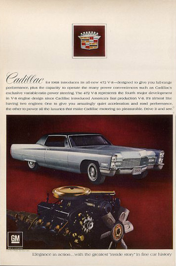 cadillac coupe deville 68