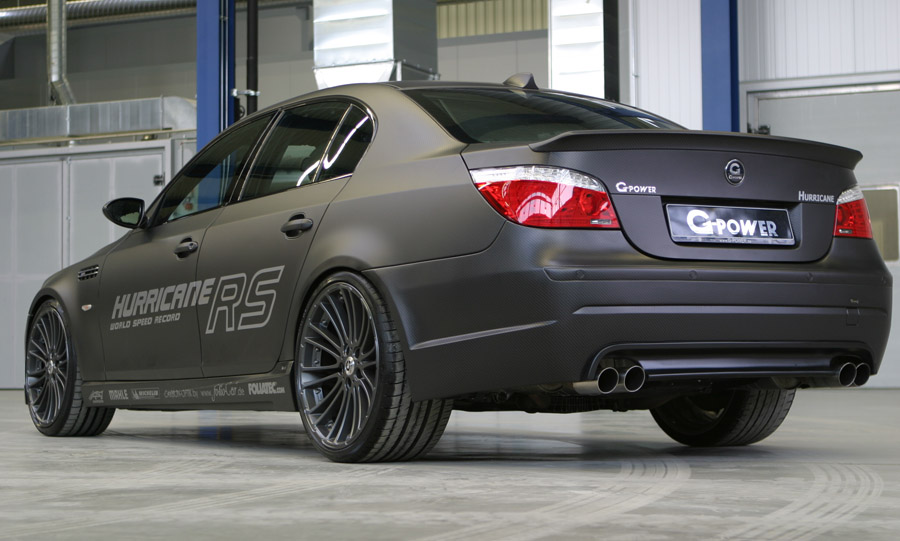 BMW Official Website >> G-Power Hurricae RS based on BMW M5 | Cartype