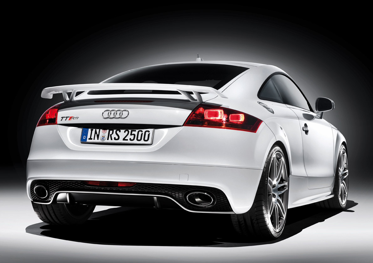 audi tt rs coupe : 2009 | cartype