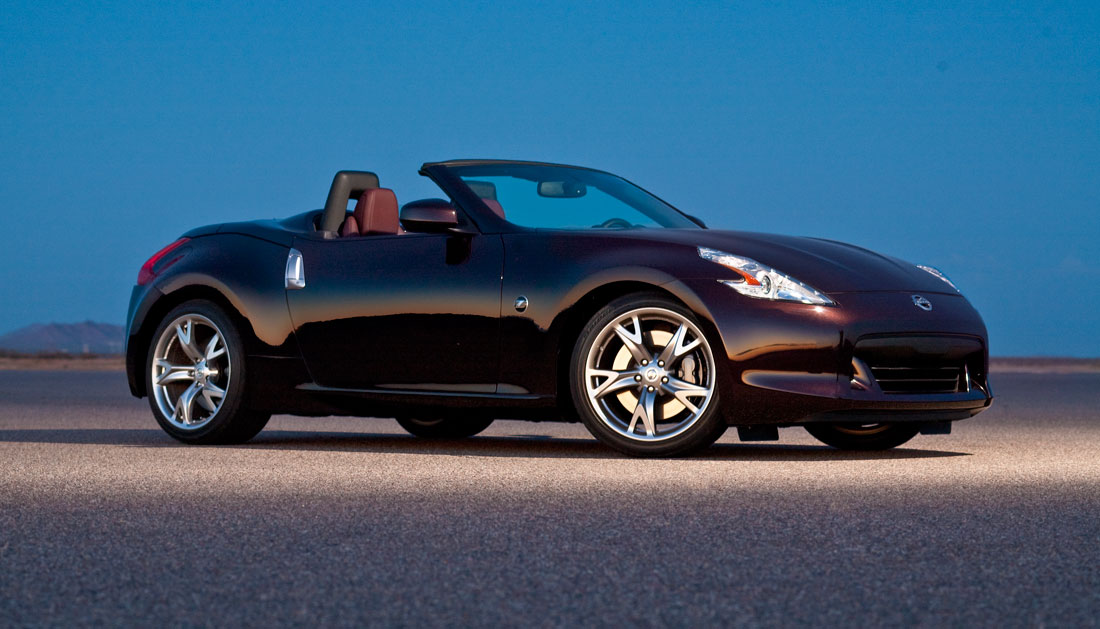 nissan 370z roadster 2010 cartype. Black Bedroom Furniture Sets. Home Design Ideas