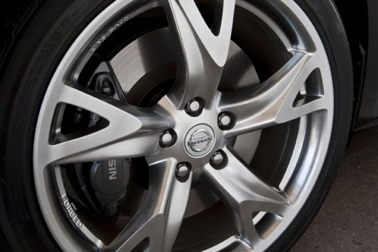 nissan 370z roadster wheel 09