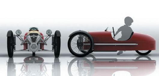 morgan pedal car 3