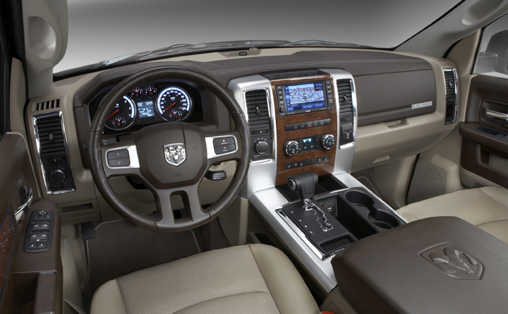 Dodge Ram Takes Top Honors in Ward rsquo s ldquo Interior of the Year