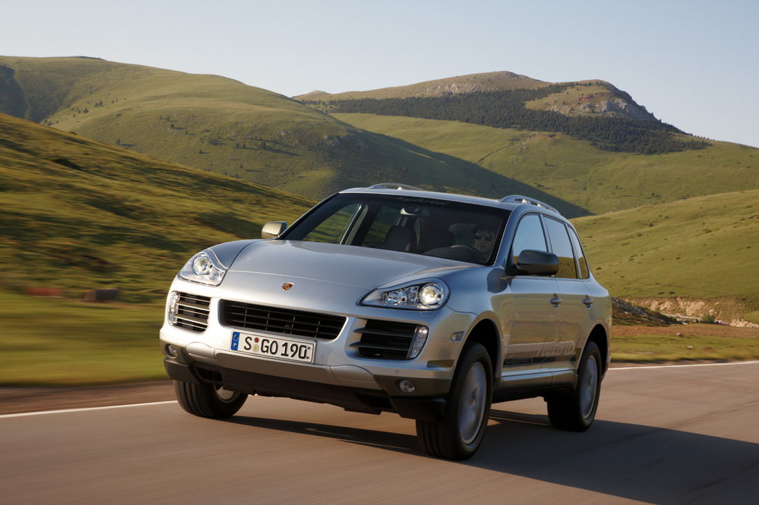 porsche cayenne s hybrid 2009 cartype. Black Bedroom Furniture Sets. Home Design Ideas