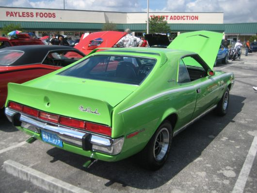 amc javelin sst 390 mark donahue 3 70
