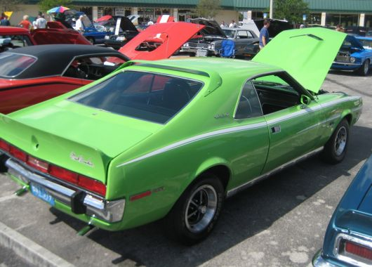 amc javelin sst 390 mark donahue 6 70