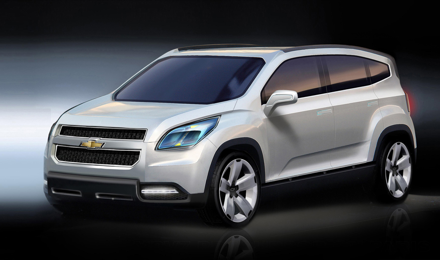 chevrolet orlando 2009 cartype. Black Bedroom Furniture Sets. Home Design Ideas