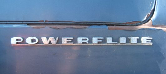 desoto powerflite emblem 54
