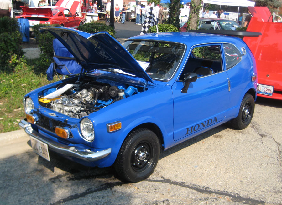 Daihatsu Badge >> Honda Z600 Coupe : 1971 | Cartype