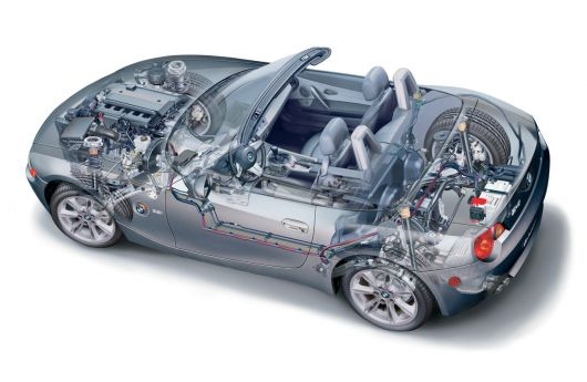 bmw z4 cut away 06