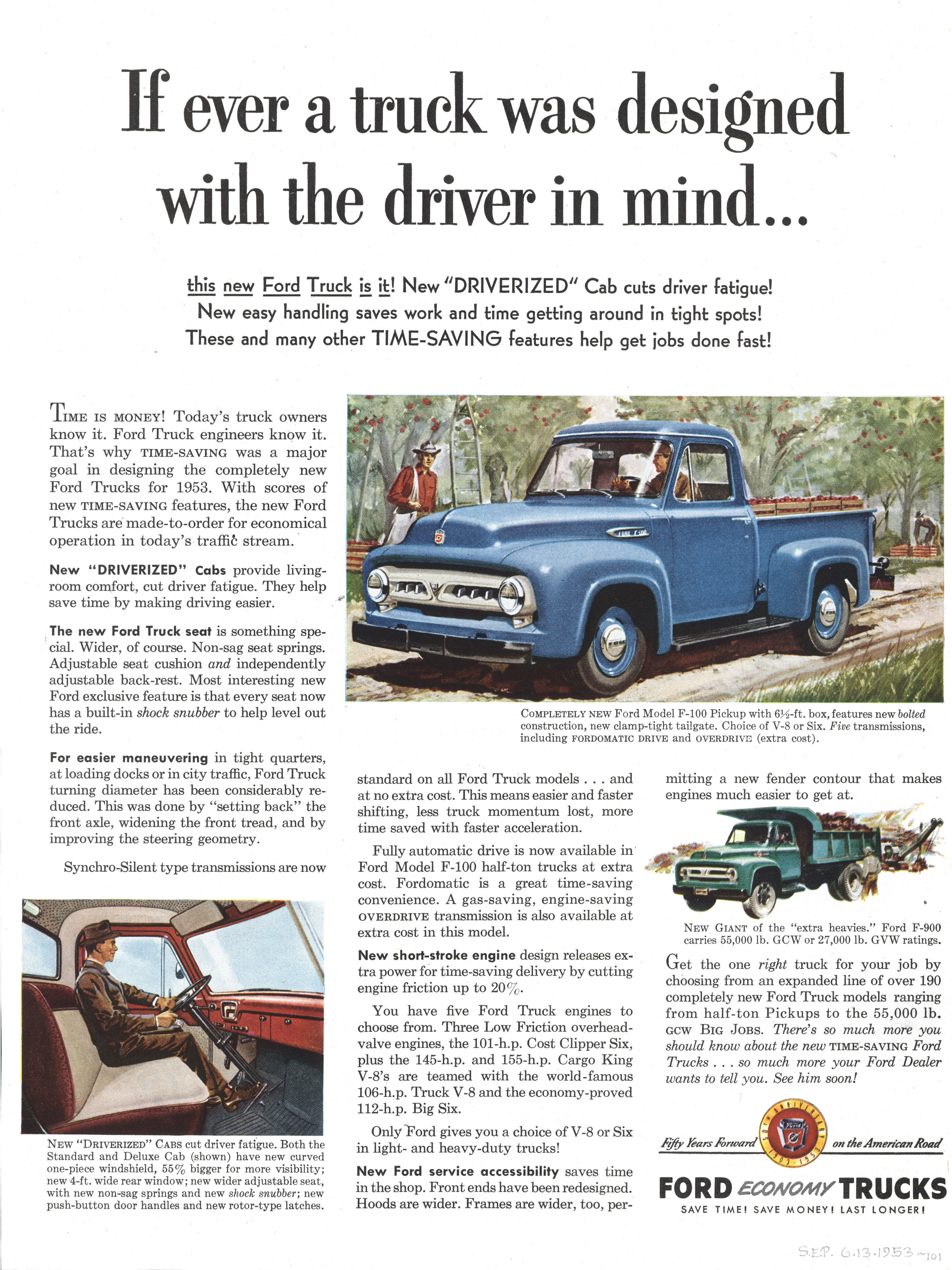 Ford f100 ad 53