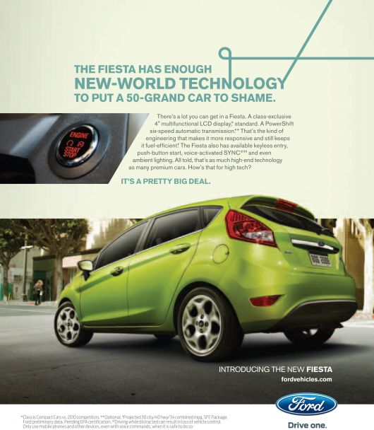 ford fiesta technology ad 10