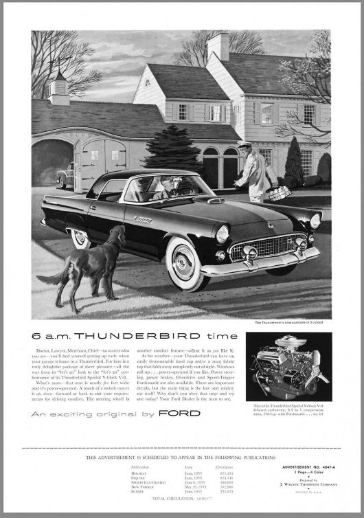 ford thunderbird ad1 55