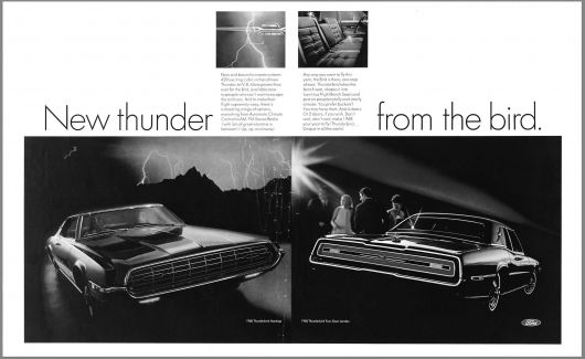 ford thunderbird ad 68
