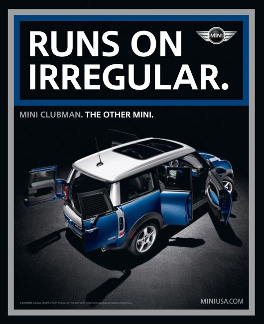 mini runs on irregular ad 09