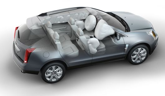 cadillac srx cut away 10
