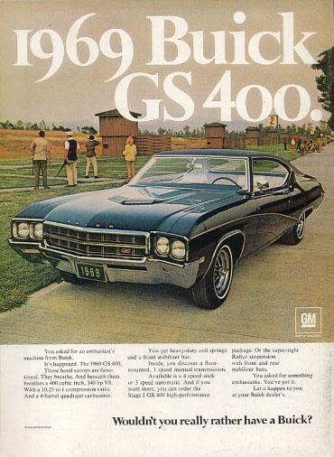 buick gs400 gs 400 69
