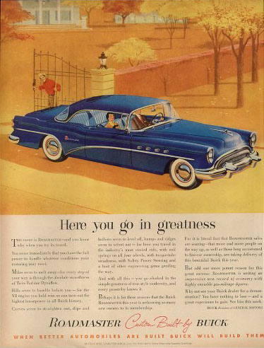 buick roadmaster coupe 54