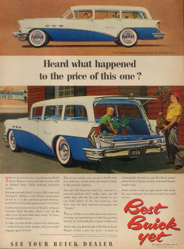 buick special estate station wagon 56