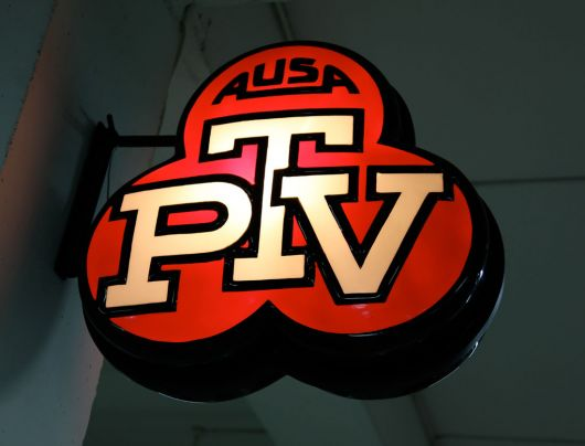 ausa ptv sign