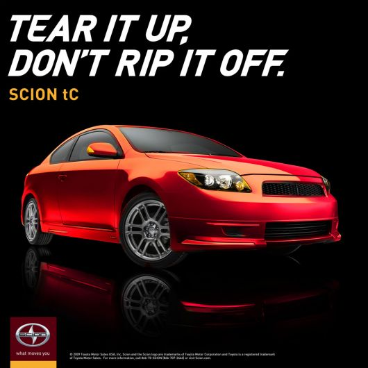 scion tc manifesto ad2 09