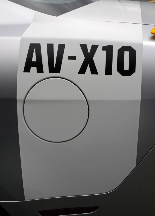 ford mustang av x10 decal 10