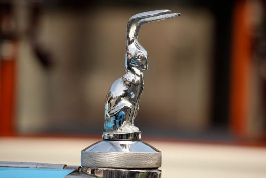 talbot 11hp six hood ornament 26