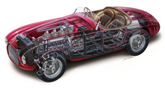 ferrari 166mm barchetta 49