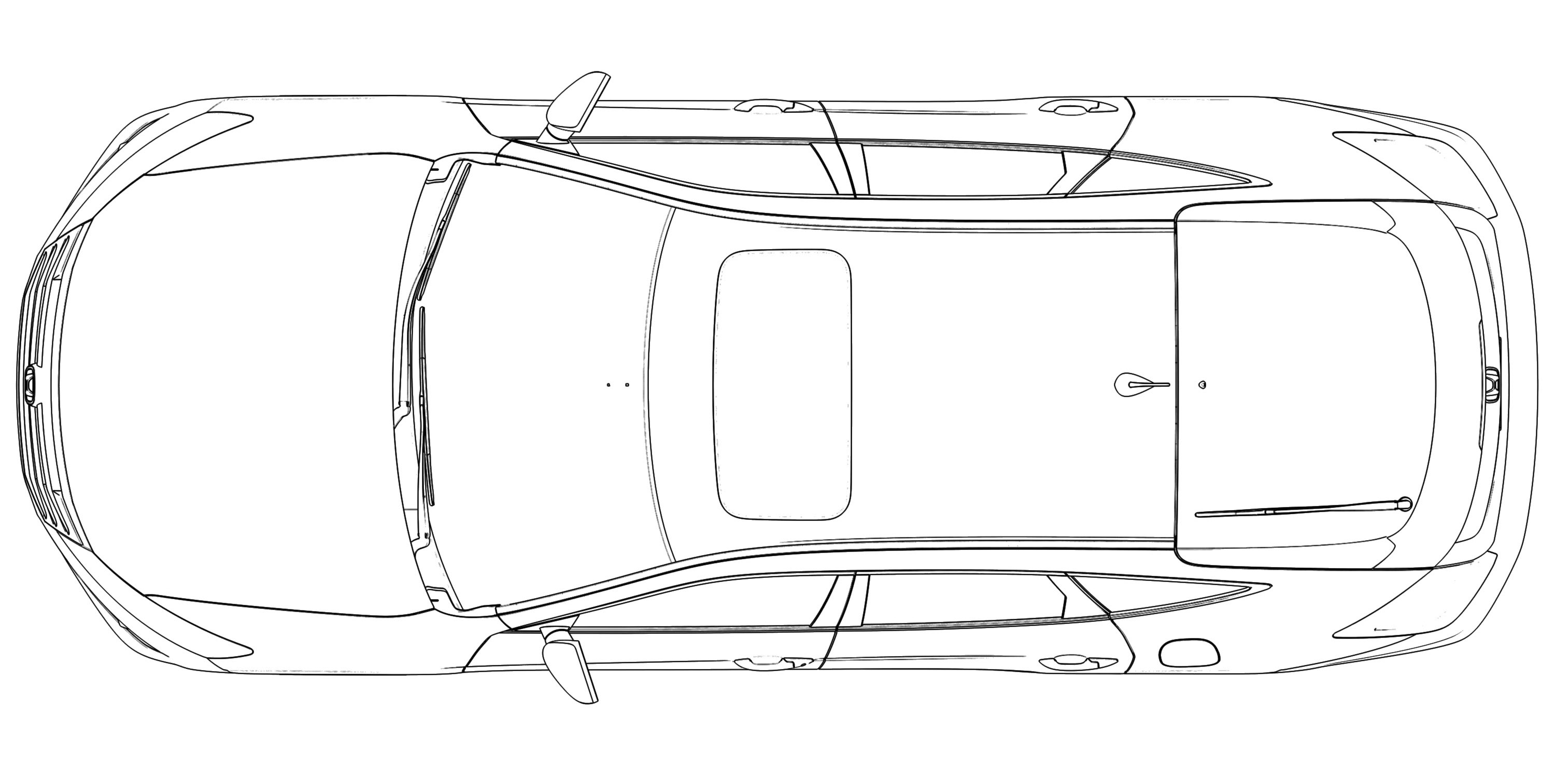 car drawing top view pictures to pin on pinterest thepinsta