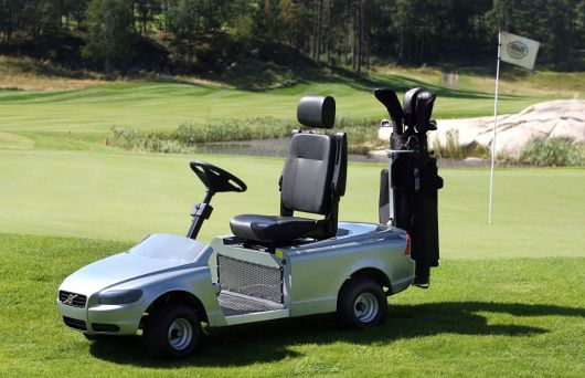 volvo golf cart 1