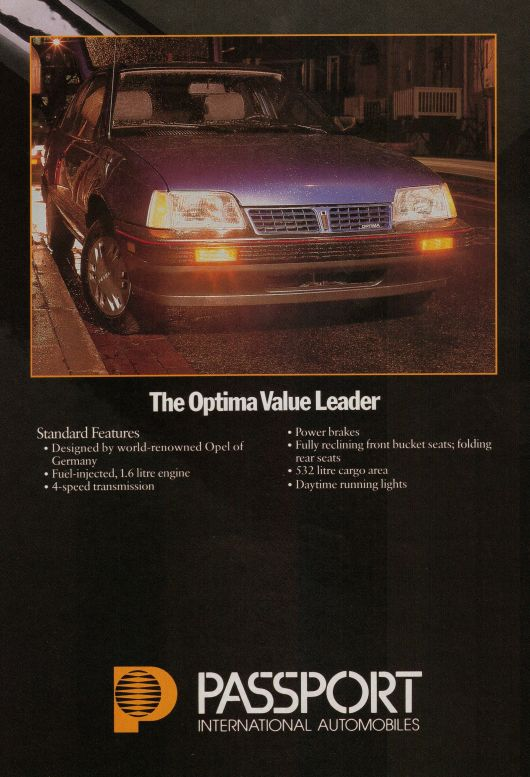 passport optima ad 86