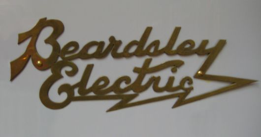 beardsley electric emblem