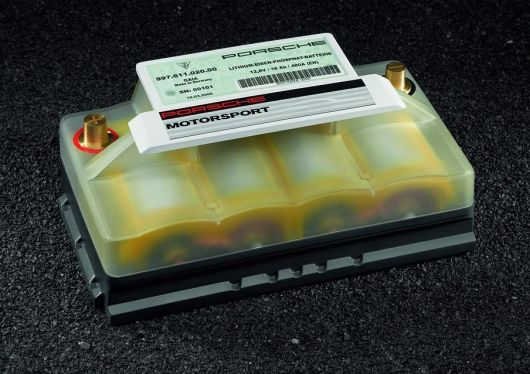 porsche lightweight battery