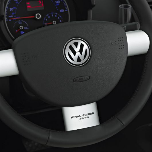 vw beetle final edition steer 10