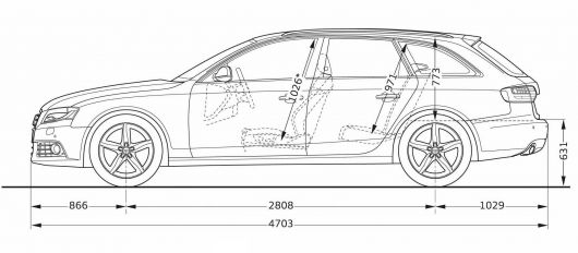 Audi A4 Wagon Dimensions The Wagon