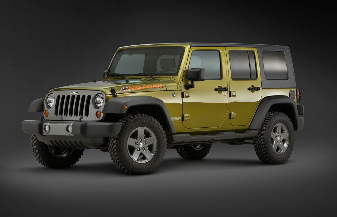 Jeep Wrangler Unlimited Mountain 2010 Cartype