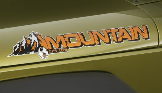 jeep wrangler unlimited mountain edition decal 10