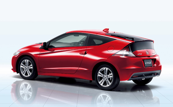 Honda Cr Z Hybrid Vehicle Introduced In Japan Cartype