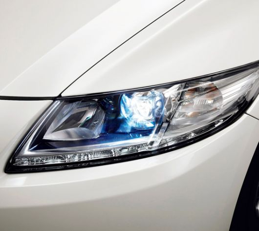 honda cr z sport hybrid coupe light 11