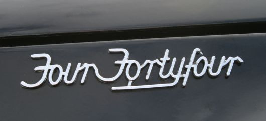 four fourty four emblem wolseley  55