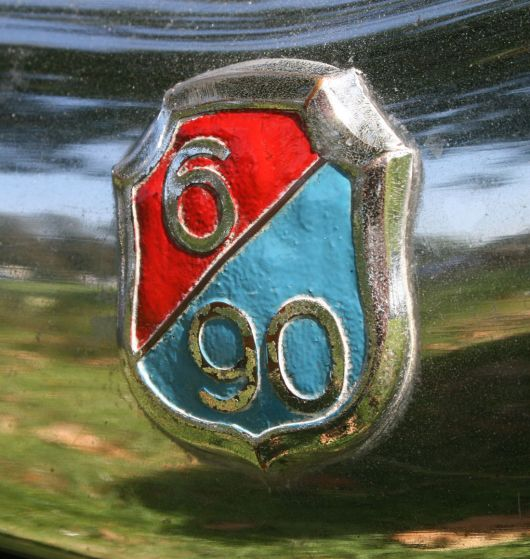 wolseley 6 90 series 3 emblem 59