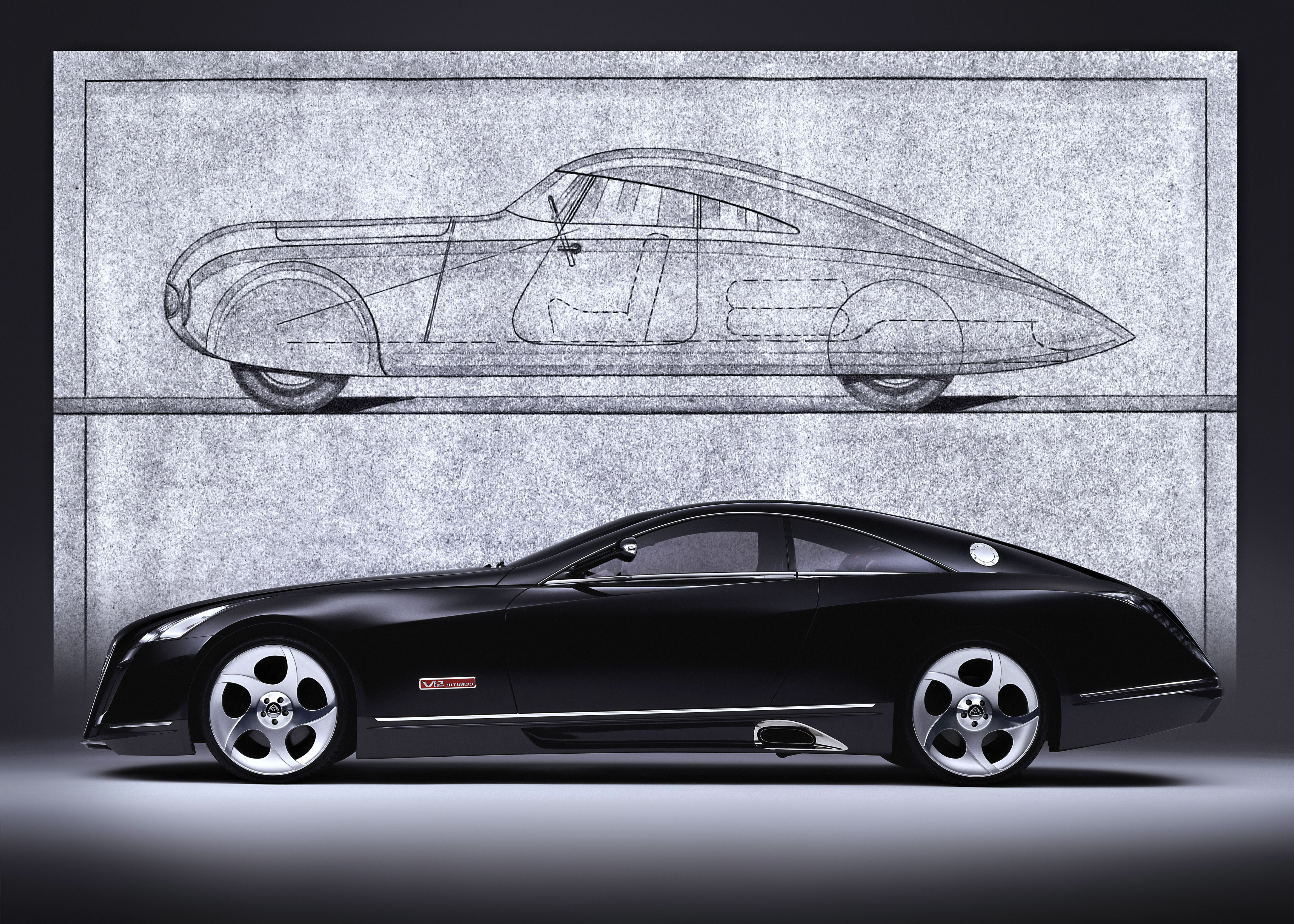 maybach exelero 2005 cartype. Black Bedroom Furniture Sets. Home Design Ideas