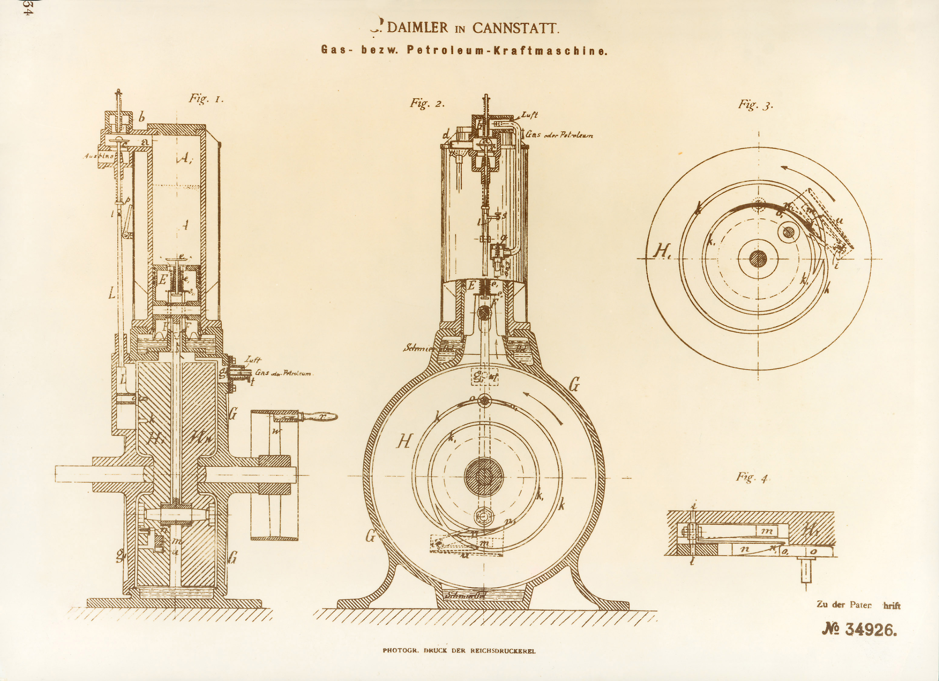 A Brief History of the Internal Combustion Engine