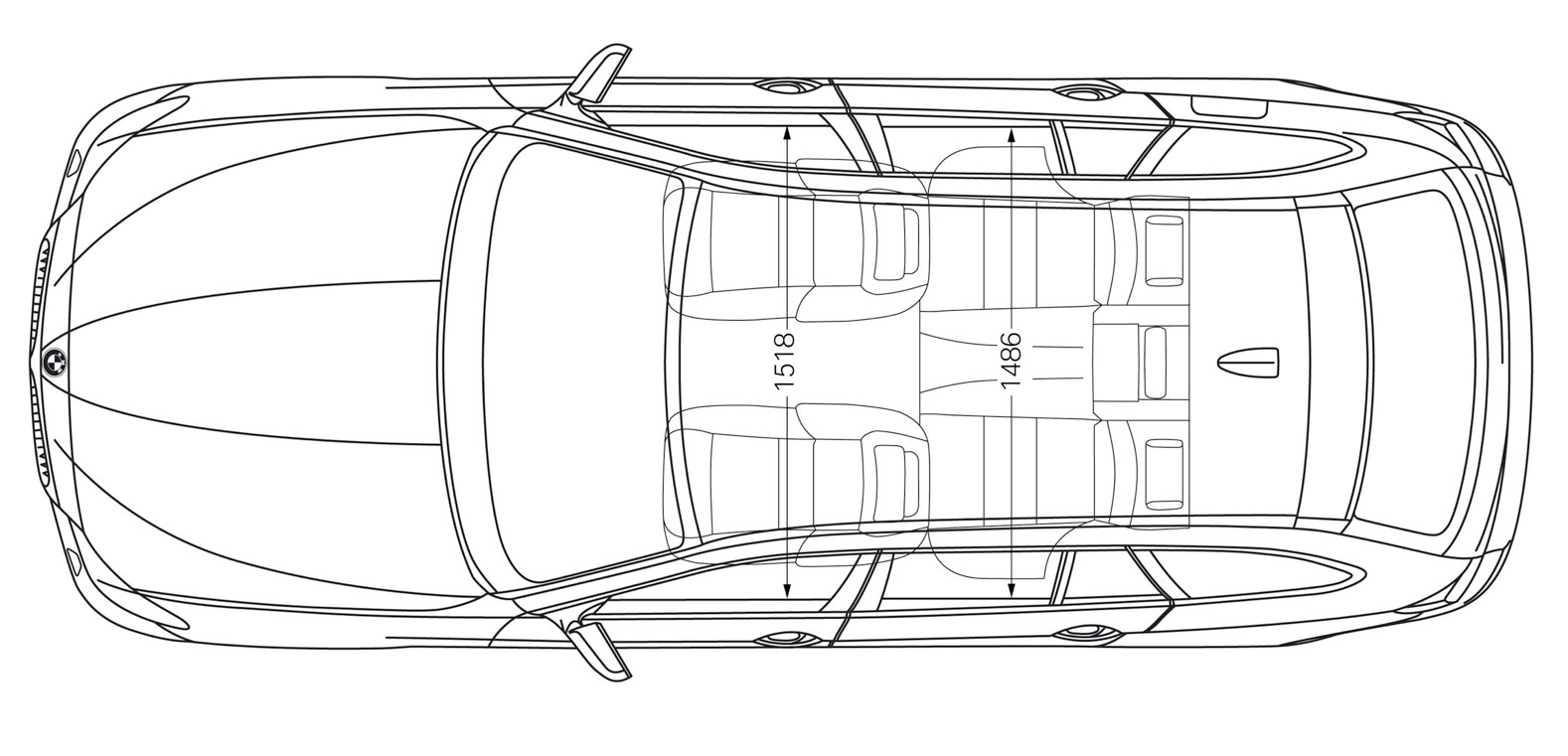 Car Drawing Top View